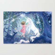 Magic Forest Canvas Print