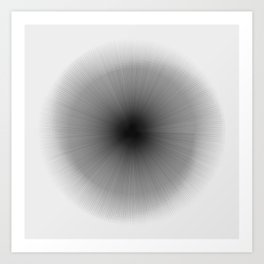 #346 rotate(eye) Art Print