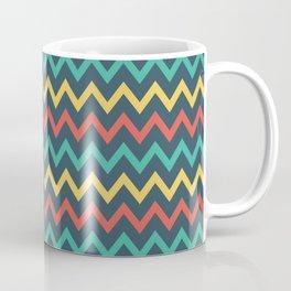 Zig Zag - Flat Coffee Mug