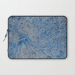 Blue Ice Texture Laptop Sleeve