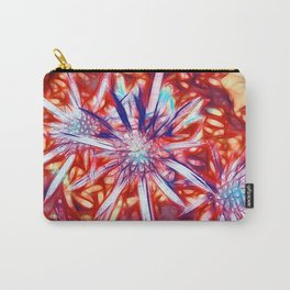 Star Bright in Red Carry-All Pouch