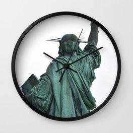 She Leads Us Wall Clock