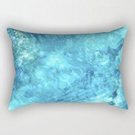 Peaceful and Calming Ocean Water Reflections Meditation Rectangular Pillow