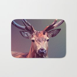 Deer geometric new Bath Mat