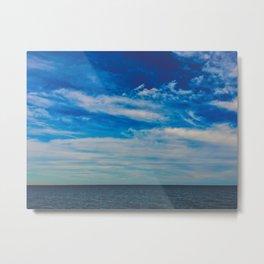 The Blue Summer Sky Metal Print