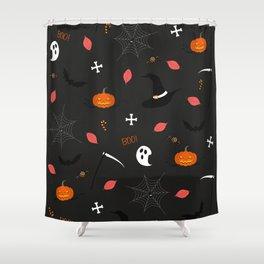 Halloween Pattern Shower Curtain