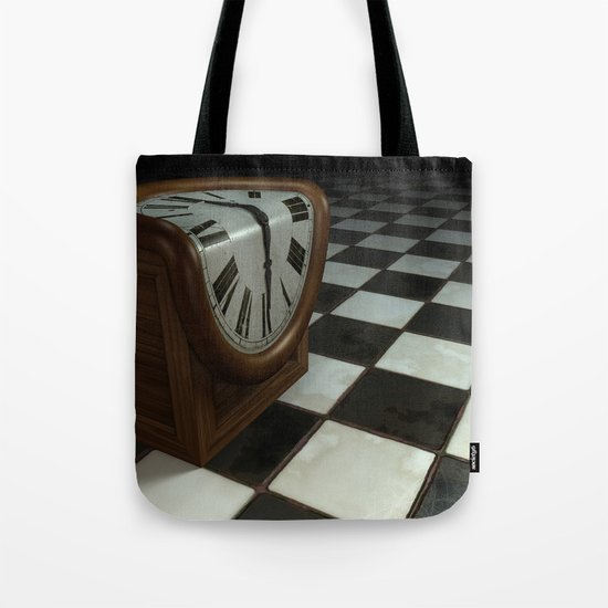 Melting Clock Tote Bag