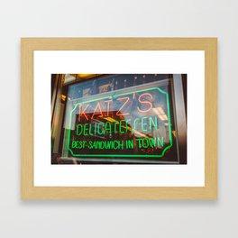Katz III Framed Art Print