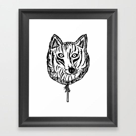 Lobollipop Framed Art Print