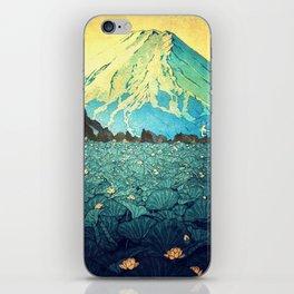 Waddling through Kennijo Lake iPhone Skin