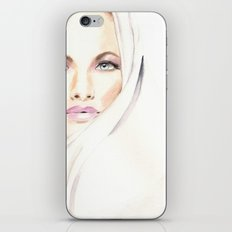 Fashion Illustration. Vogue Magazine Cover. Karen Mulder. iPhone & iPod Skin