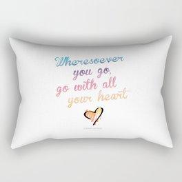 Confucius Say Rectangular Pillow