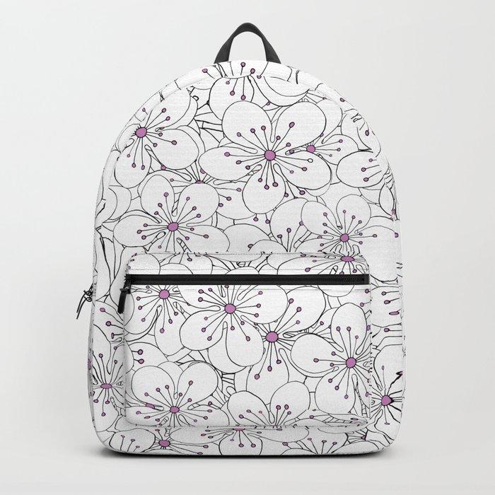 Cherry Blossom Pink - In Memory of Mackenzie Backpack