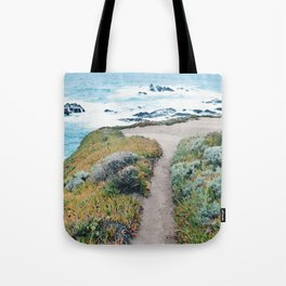 The Path to the Ocean Tote Bag