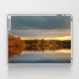 Nature lake 88471 Laupheim - Germany Laptop & iPad Skin