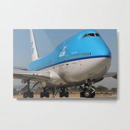 KLM up close Metal Print