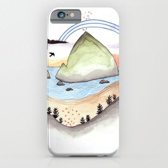 Haystack Rock iPhone & iPod Case