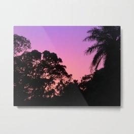 Bubblegum Sunset Metal Print