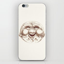 The Man in the Moon iPhone Skin