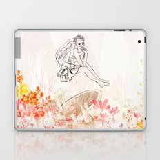 mashroom lady wonderland  Laptop & iPad Skin