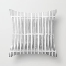 Estudio sobre blanco (las raicillas del presidio). Throw Pillow