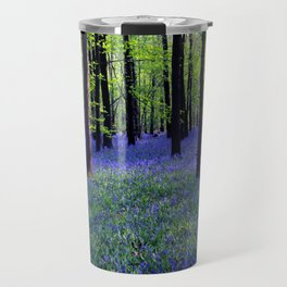 drowning in the bluebell sea Travel Mug