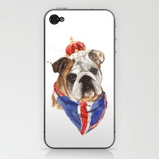 Thank you LONDON - British BULLDOG - Jubilee Art iPhone & iPod Skin