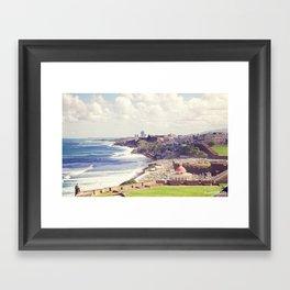 Old San Juan, Puerto Rico Framed Art Print