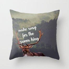 The Raven Cycle - The Raven King Throw Pillow