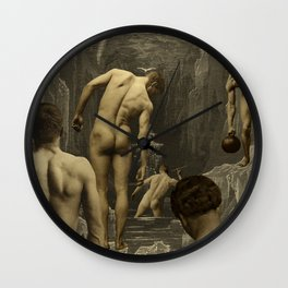 OUT ALL NIGHT Wall Clock