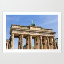 Brandenburg Gate Berlin Art Print