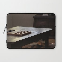 A Thinking Man's Game Fort Stanton New Mexico Laptop Sleeve