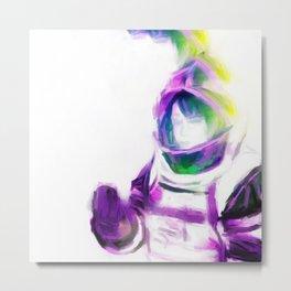 Astro Girl - Slight of Hand Metal Print