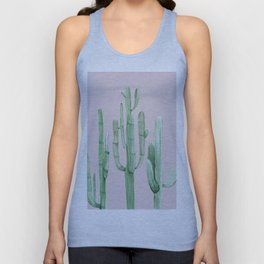 Three Amigos Green + Pink Unisex Tank Top