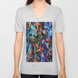 Abstract chaos. Unisex V-Neck