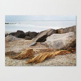 Tybee Beach Canvas Print