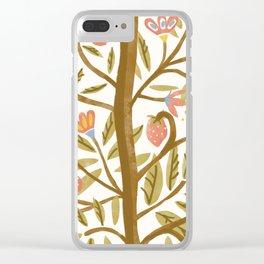 Te Odd Tree Clear iPhone Case