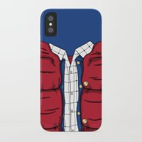 mcfly iPhone & iPod Cases featuring The McFly by antastic