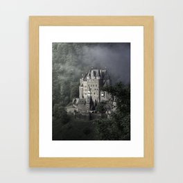 Fairytale castle in Germany Framed Art Print