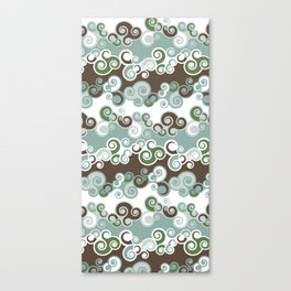 New 'Cool Waves' Patterns Canvas Print