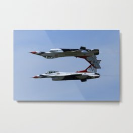 Inverted Metal Print