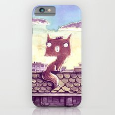 Cats on the roof iPhone 6s Slim Case