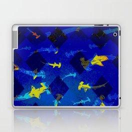 Argyle Frenzy in Lapis Laptop & iPad Skin