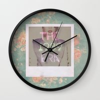 1989 Wall Clocks featuring The 1989 Era by Lucia C