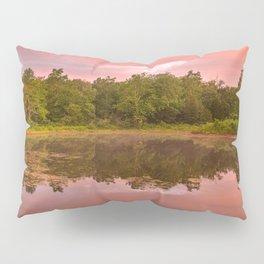 Pink Twilight Marsh Pillow Sham