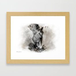 CHOW Framed Art Print