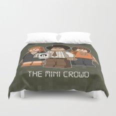 The Mini Crowd Duvet Cover
