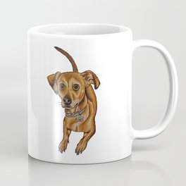 Maxwell the dog Coffee Mug