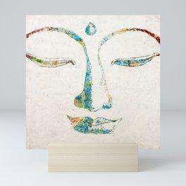 Buddha Squared Mini Art Print