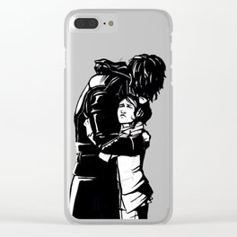 DISHONORED- Stronger When You Hold Her Clear iPhone Case